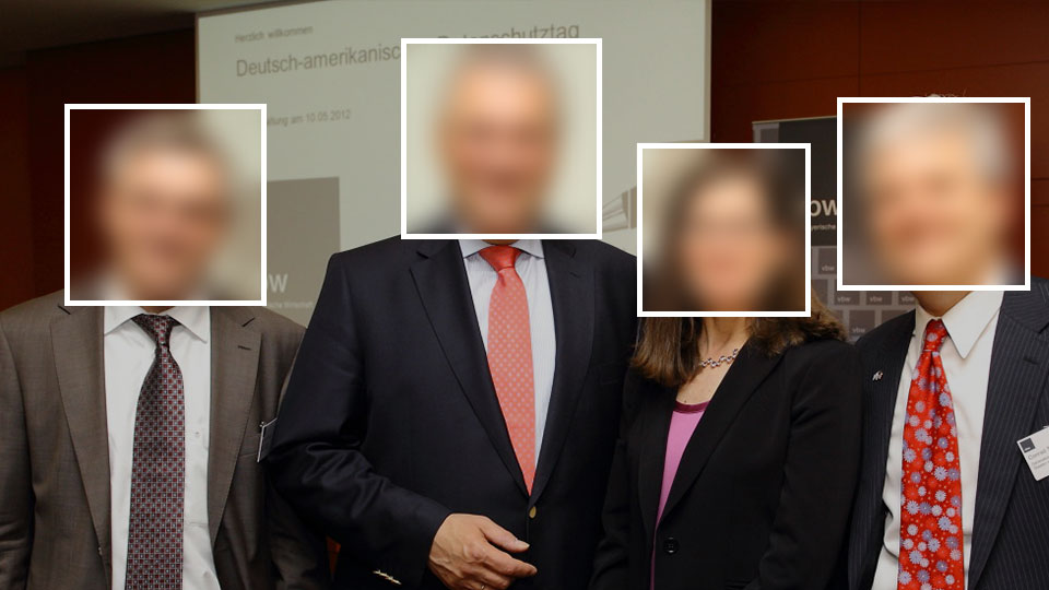 US Consulate Munich Deutsch-amerikanischer Datenschutztag (data protection day). Photo found in the MegaFace face recognition training dataset